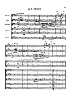 May Night: Песня Левко – партитура by Nikolai Rimsky-Korsakov