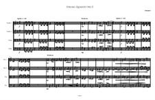 String Quartet No.5: String Quartet No.5 by Irminsul Harp