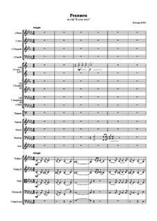 Requiem: réquiem by Eugen Doga