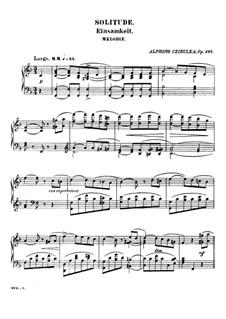 Solitude, Op.285: Solitude by Alphons Czibulka