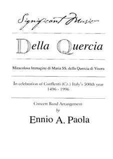 Della Quercia: Of the Oak: Hymn of Hope, Hymn of Faith, Hymn of Peace by Unknown (works before 1850)