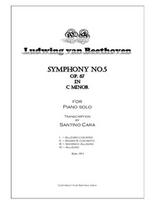 Complete Symphony: versão para piano by Ludwig van Beethoven