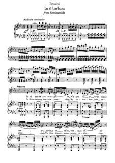 Semiramide: In si barbara sciagura by Gioacchino Rossini
