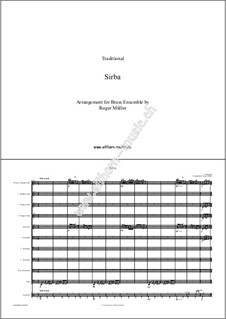Sirba: For brass ensemble by folklore
