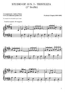 No.3 in E Major: Para Piano by Frédéric Chopin