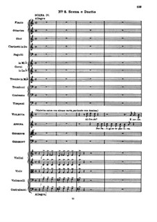 Fragments: Act II No.5 Scene and Duet by Giuseppe Verdi