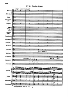 Fragments: Act III No.11 Finale by Giuseppe Verdi