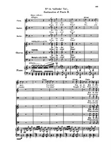 Fragments: Act II No.14 Alfredo! Voi!, for soloists, choir and piano by Giuseppe Verdi