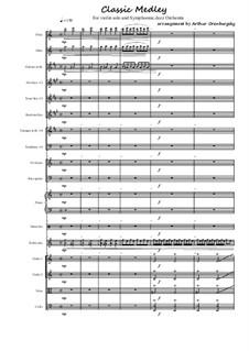 Classic Medley: Classic Medley by Wolfgang Amadeus Mozart, Ludwig van Beethoven, Niccolò Paganini