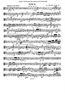 String Quintet No.1 in E Flat Major, Op.4: viola parte II by Ludwig van Beethoven
