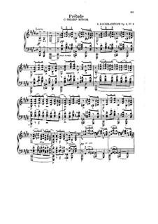 No.2 Prélude: Para Piano by Sergei Rachmaninoff