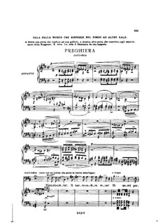 Fragments: Act II No.2, for soloists, choir and piano by Giuseppe Verdi