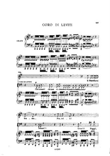 Fragments: Act II No.3, for soloists, choir and piano by Giuseppe Verdi