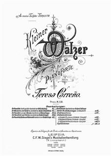Little Waltz in D Major: Para Piano by Teresa Carreño