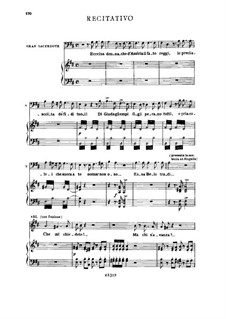 Fragments: Act III No.2, for soloists, choir and piano by Giuseppe Verdi