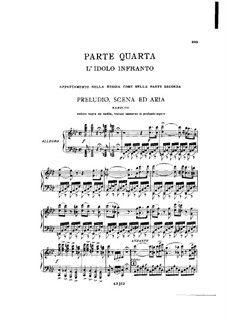 Fragments: Act IV No.1, for soloists, choir and piano by Giuseppe Verdi