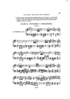 Fragments: Act IV No.2, for soloists, choir and piano by Giuseppe Verdi