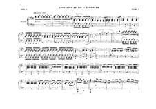 Act II. Antract and Elisabeth's Aria: arranjos para piano de quatro mãos by Richard Wagner