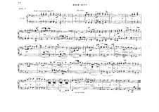 Fragments: Act III, Antract, for piano four hands by Richard Wagner
