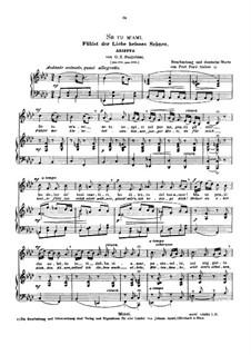 Se tu m'ami, se sospiri: Medium voice in F minor by Giovanni Battista Pergolesi