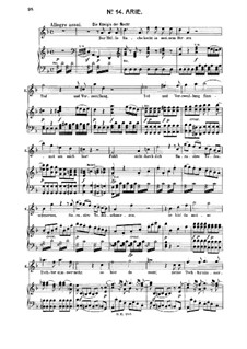 Hell's Vengeance Boils in My Heart: For soprano and piano by Wolfgang Amadeus Mozart