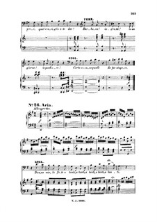 Donne mie la fate a tanti: For bass or baritone and piano by Wolfgang Amadeus Mozart