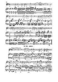 Servilia's Aria 'S'altro che lagrime': For soprano and piano by Wolfgang Amadeus Mozart