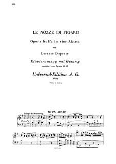 Il capro e la capretta: For mezzo and piano by Wolfgang Amadeus Mozart