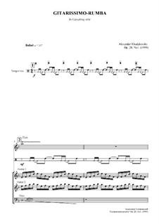 Gitarissimo-Rumba, Op.28 No.1: Gitarissimo-Rumba by Alexander Khodakovsky