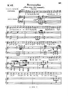 E Susanna non vien... Dove sono: For soprano and piano by Wolfgang Amadeus Mozart