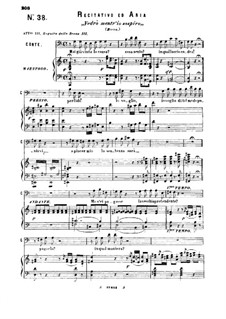 Hai gia vinta la causa: For baritone or bass and piano by Wolfgang Amadeus Mozart