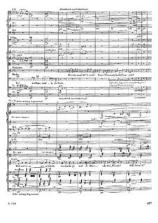 Isolde's Love Death: partitura completa by Richard Wagner