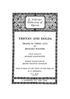 Fragments: ato I, para vozes e piano by Richard Wagner