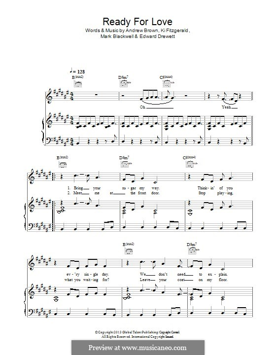 Are You Ready? (Lawson): Para vocais e piano (ou Guitarra) by Andrew Brown, Ed Drewett, Ki Fitzgerald, Mark Blackwell