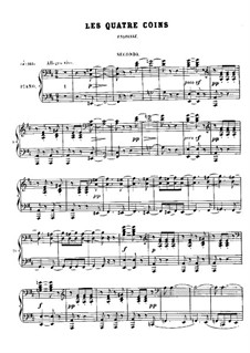 No.8 Les quatre coins: No.8 Les quatre coins by Georges Bizet