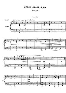 No.9 Colin-maillard: No.9 Colin-maillard by Georges Bizet
