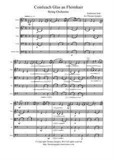 Coinleach Glas an Fhomhair: para orquetra de cordas by folklore