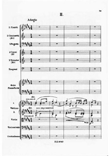 Concerto for Piano and Orchestra No.2, J.155 Op.32: movimento II by Carl Maria von Weber