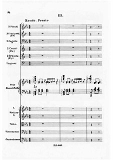 Concerto for Piano and Orchestra No.2, J.155 Op.32: movimento III by Carl Maria von Weber