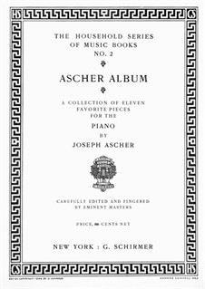 Danse Andalouse, Op.30: Para Piano by Joseph Ascher