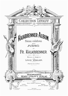 La femme du marin, Op.139: Para Piano by Friedrich Kalkbrenner
