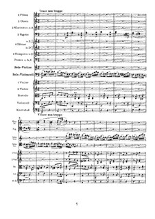 Concerto for Violin, Cello and Orchestra in A Minor, Op.102: movimento III by Johannes Brahms