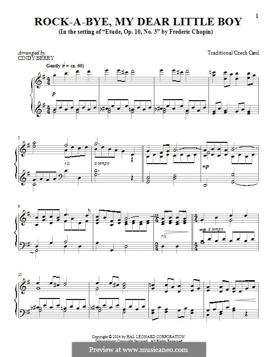 Rocking: Para Piano by folklore