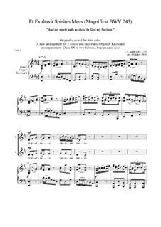 Magnificat in D Major, BWV 243: Et Exultavit Spiritus Meus by Johann Sebastian Bach
