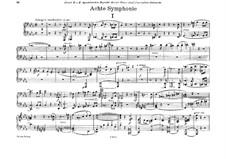 Symphony No.8 in C Minor, WAB 108: arranjos para piano de quatro mãos by Anton Bruckner
