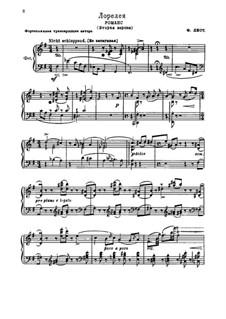 Die Lorelei, S.273: Für Klavier by Franz Liszt