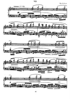 Ten Preludes, Op.23: Prelude No.6 in E Flat Major by Sergei Rachmaninoff