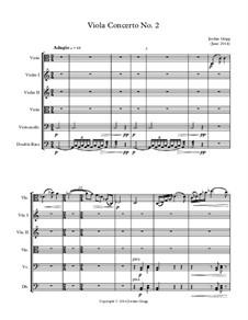 Viola Concerto No.2: Viola Concerto No.2 by Jordan Grigg