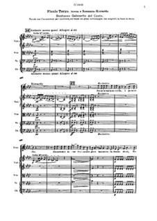 A Masked Ball: Scena e romanza-Riccardo by Giuseppe Verdi