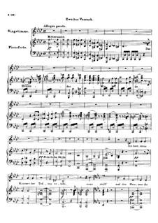 Der Geistertanz (Ghost Dance), D.15: Fragment II by Franz Schubert